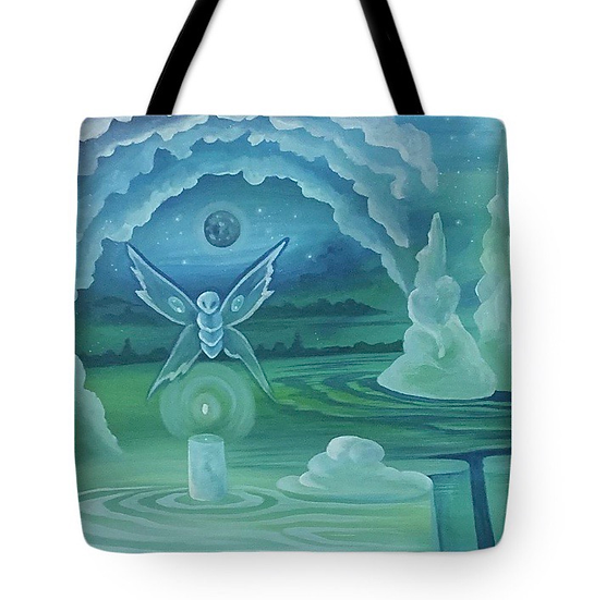 """Tote Bag of """"Shine your Light"""" (Size: 16""""X16"""")"""
