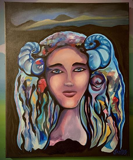 """Original Painting of """"Aeries Fairy"""""""