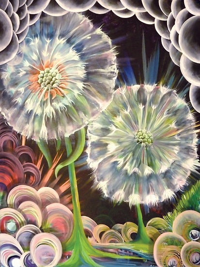 """Paper Print of """"Fireworks to Wishes"""""""