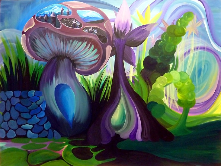 """Portalbella"" Canvas Print (11""X14"")"
