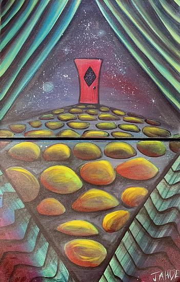 "Original Painting ""When one door closes"""