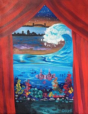 Custom Mural Sized paintings