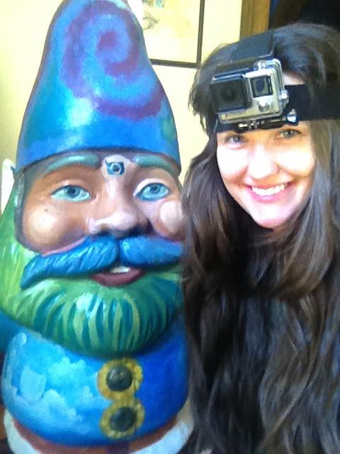 "Fiberglass Gnome ""The sweet nature in me"""