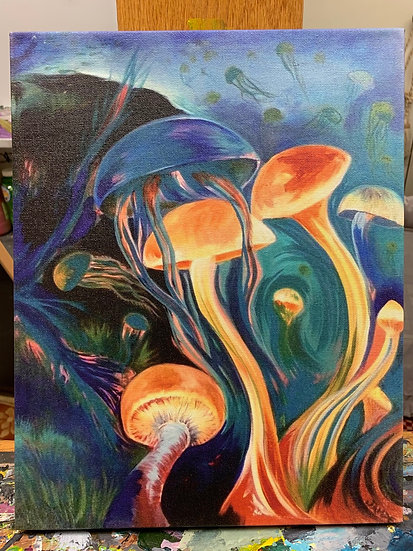 """Morph"" Canvas Print (11"" x 14"")"