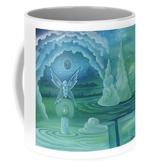 "Cup of ""Shine your light"" (Size: 11oz)"