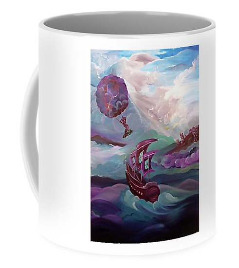 "Cup of ""Nomads Journey"" (Size: 11 oz)"
