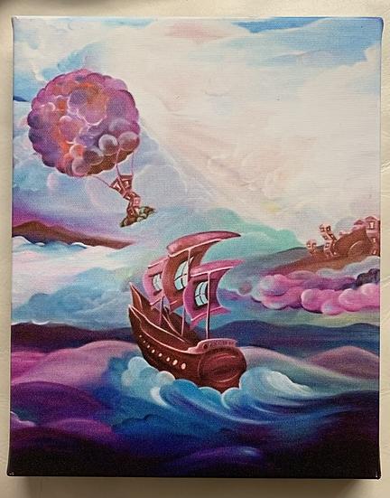 Nomads Journey Canvas Print