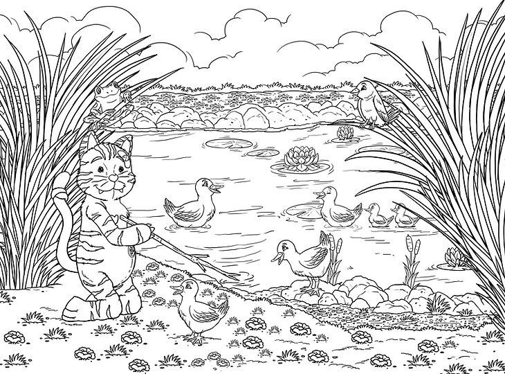 Karli und die Enten