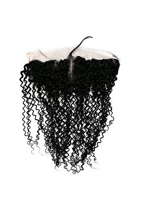 Brazilian Kinky Curly Lace Frontal