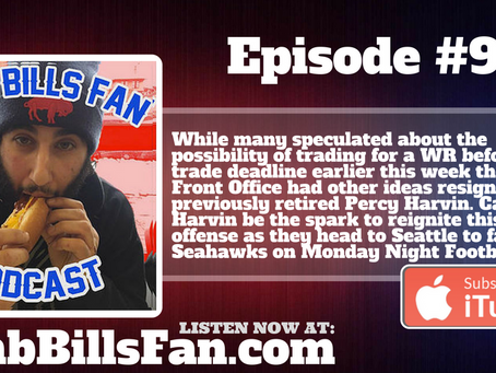 Numb Bills Fan Podcast - #91 LAWD HAVE MERCY, HERE COMES PERCY!