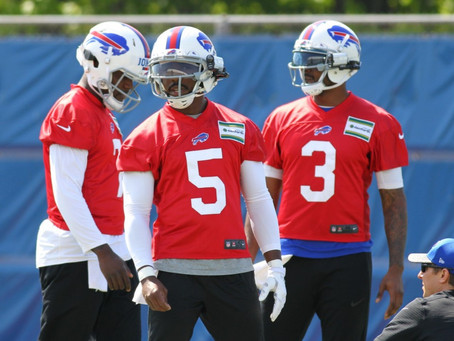 Numb Bills Fan Podcast #58 - Bills OTAs, Media Policy Woes and Injury Updates