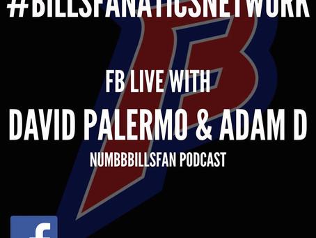 Numb Bills Fan Live on Bills Fanatics Network - Episode 2