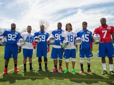 Numb Bills Fan Podcast #56 - Rookie Mini Camp Impressed, Glenn's Contract Offers Huge Relief