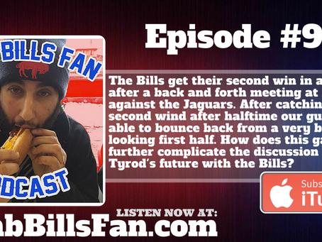 Numb Bills Fan Podcast #96 - Bills Knock Off the Jaguars