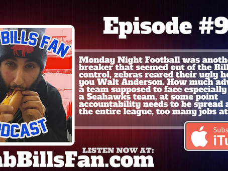 Numb Bills Fan Podcast - #92 How Could the Bills Lose, Right?