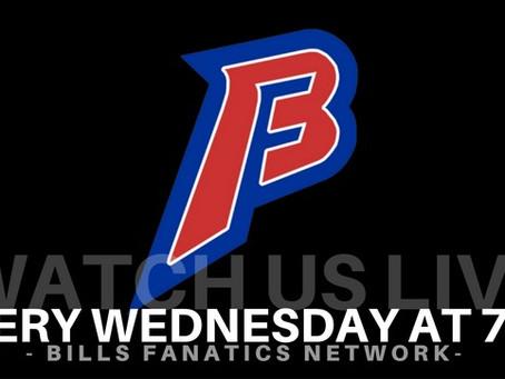 Numb Bills Fan Live on Bills Fanatics Network - Episode 3