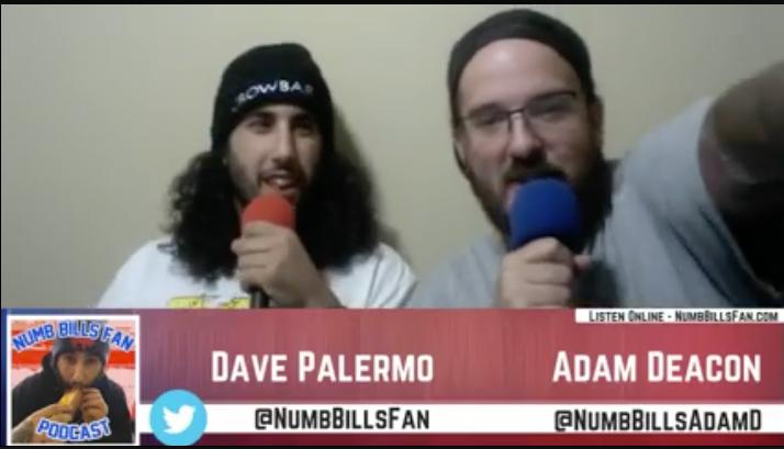 Numb Bills Fan Podcast live on Bills Fanatics Network