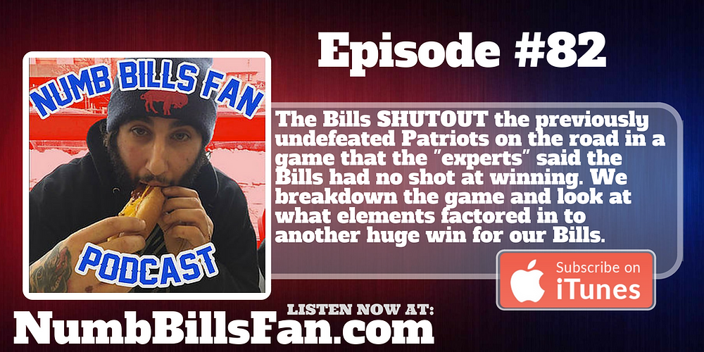Numb Bills Fan Podcast - Authentic Buffalo Bills Talk with Dave Palermo and Adam Deacon