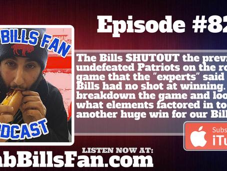 Numb Bills Fan Podcast #82 - #BUFvsNE Shutout Reactions
