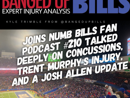 NBF #210 Talked Deeply on Concussions, Trent Murphy's Injury, and a Josh Allen Update with Kyle from