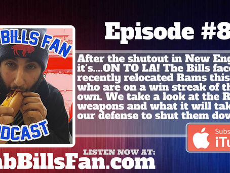 Numb Bills Fan Podcast #83 - Can the Bills Go on a Run? #BUFvsLA Preview