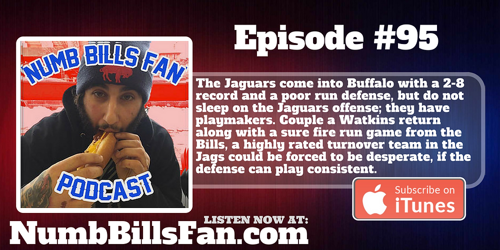 Numb Bills Fan Podcast #95 | Authentic Bufalo Bills talk with Dave Palermo & Adam Deacon