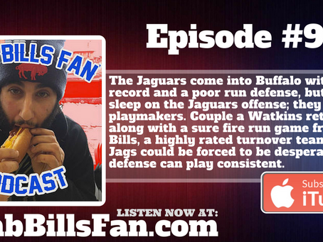 Numb Bills Fan Podcast #95 - Can the Bills Keep it Simple against the Jaguars?