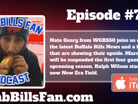 Numb Bills Fan Podcast #71 - with Special Guest Nate Geary From WGR550