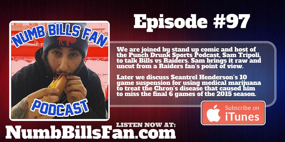 Numb Bills Fan #97 | Authentic Bufalo Bills talk with Dave Palermo & Adam Deacon
