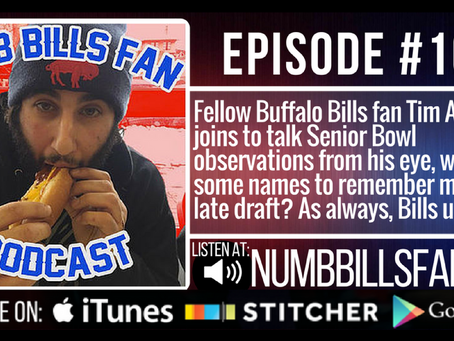 Numb Bills Fan Podcast #107 - with special guest Tim Avery