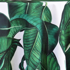 Palm Leaf Printed Poly