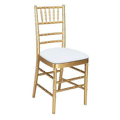 Gold Chiavari Chair Rental for wedding event and ceremony in Grand Rapids, Gran