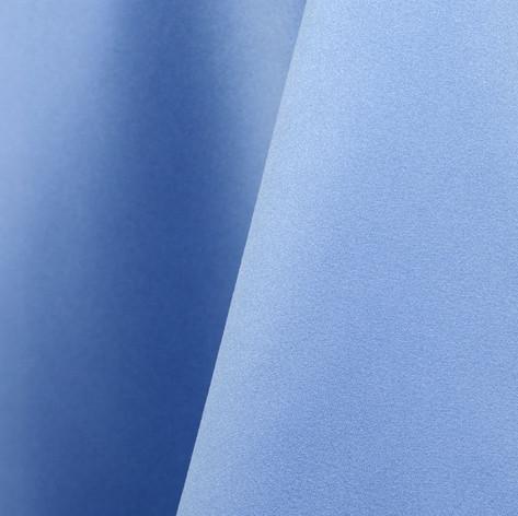 Periwinkle Blue Matte Satin