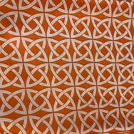 Orange and White Mystic Poly