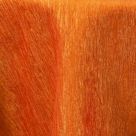 Orange Crinkle
