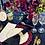 Fuchsia Peacock Glass Charger Rental Michigan Wedding or Celebration
