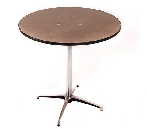 Short bistro table rental for wedding, party, event in Grand Rapids, Grand Blanc, Traverse City Michigan