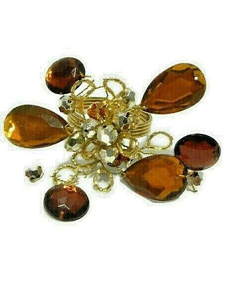 Autumn Beads Napkin Ring