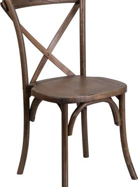 Cross Back Farm Chairs
