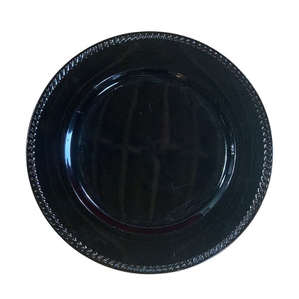 Black Rope Charger Plate Rental near Michigan