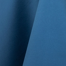 Azure Blue Matte Satin