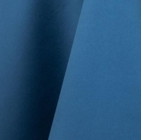 Azure Blue Matte Satin