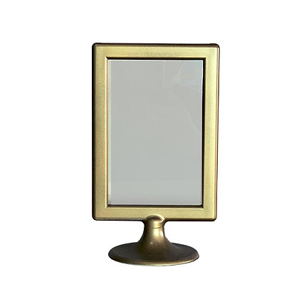 Gold reserved sign and table number sign wedding and event rental in Grand Rapids, Grand Blanc and Traverse City Michigan