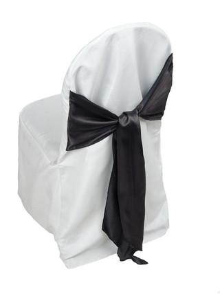 White Standard Chair Cover