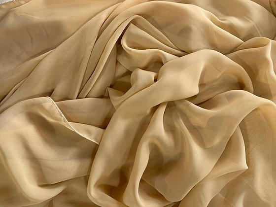 Champagne Chiffon Runner Rental for Wedding or event in Michigan