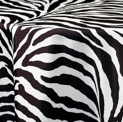 Zebra Printed Poly