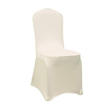 Ivory Spandex Chair Cover Rental for wedding, event, party in Grand Rapids, Grand Blanc, Traverse City Michigan