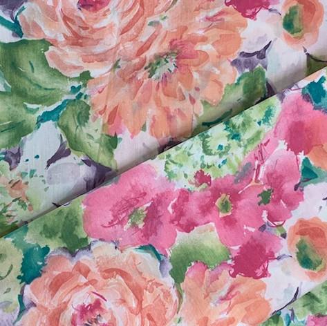 Garden Blossom Printed Cotton