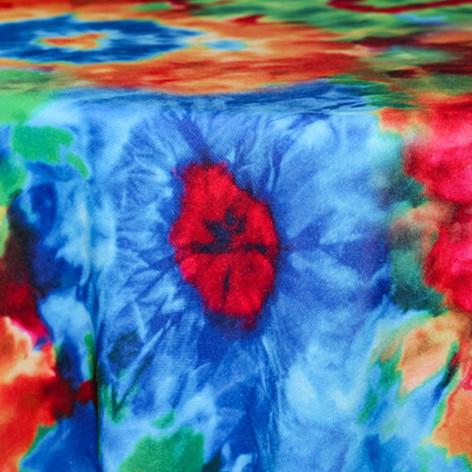 Tye Dye Printed Poly