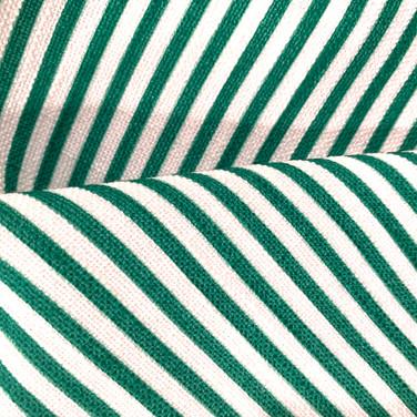 Green and White Stripe Panama Napkin.jpg